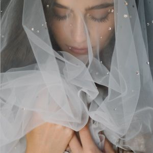 Daphne Newman Lucca Cathedral Veil